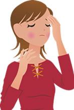 事故後の症状